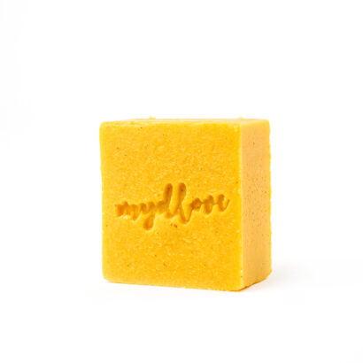 Mydlove tuhy kondicioner na vlasy pomaranc skorica