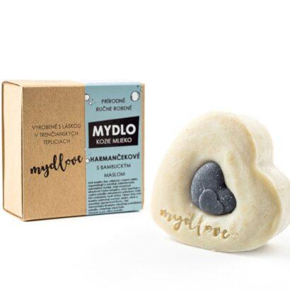 Mydlove prirodne mydlo s kozim mliekom a harmancekom
