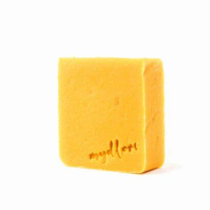Mydlove prirodne mydlo s kozim mliekom rakytnikove