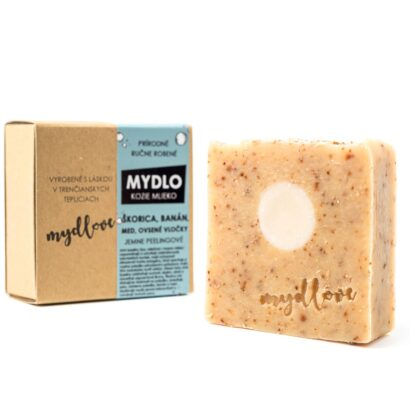 Mydlove prirodne mydlo s kozim mliekom skoricove