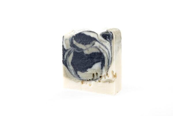 Mydlove prirodne olivove mydlo s francuzskym ilom a aktivnym uhlim