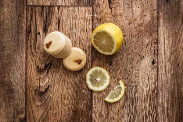 Mydlove sampon citrus borovica