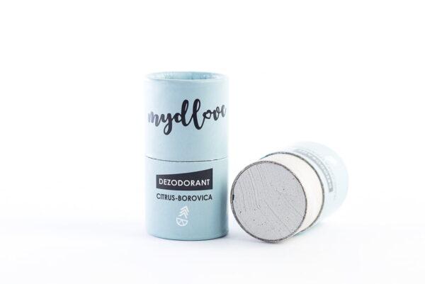 dezodorant Mydlove citrus borovica